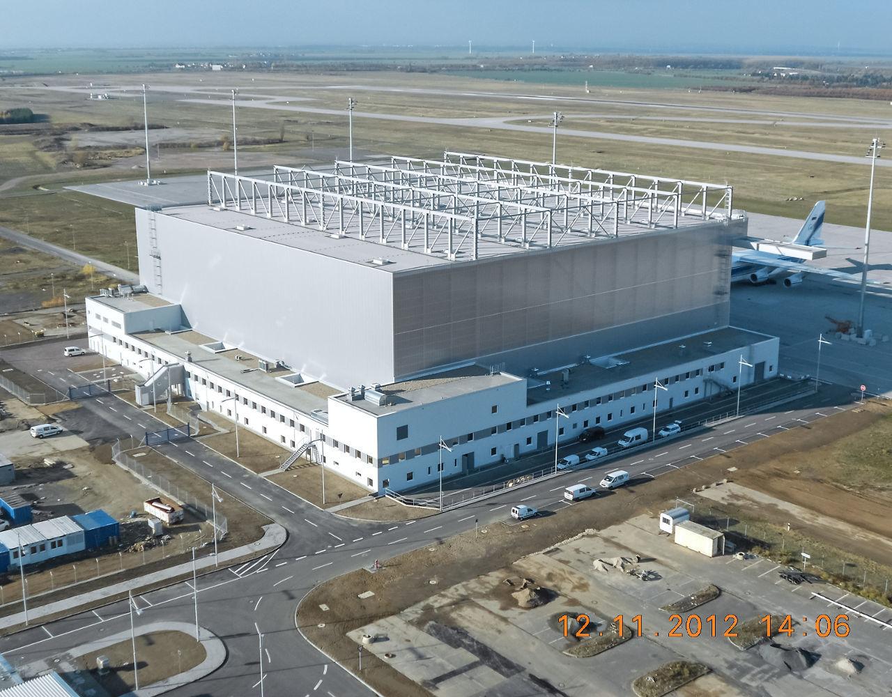 wpm Projektmanagement Hangar Apron