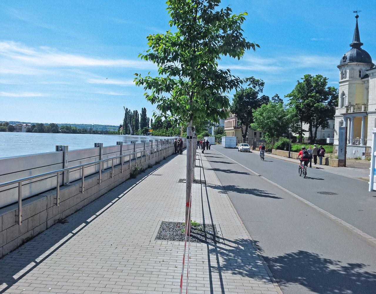 wpm Projektmanagement-hochwasserschutzlinie Kaditzer Flutrinnie