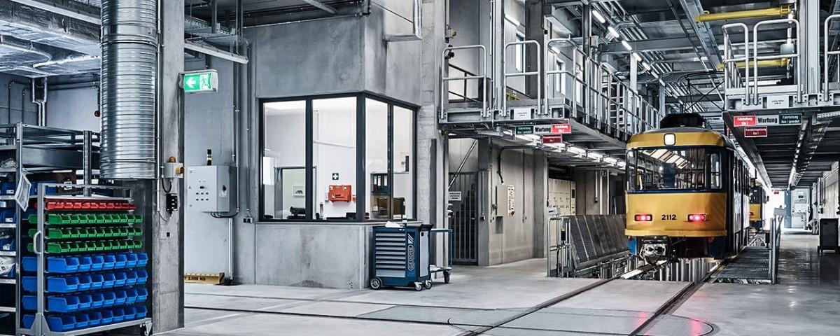 wpm Projektmanagement Straßenbahnbetriebshof Dörlitz